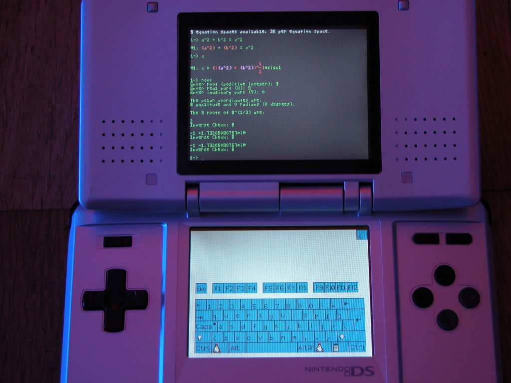 dslinux linux for the nintendo ds